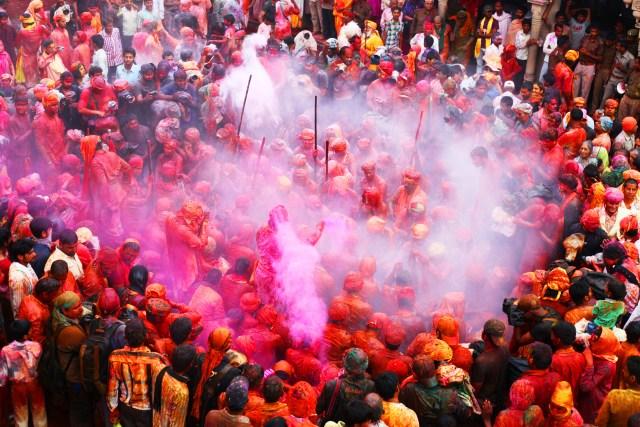 Barsana Holi Festival India