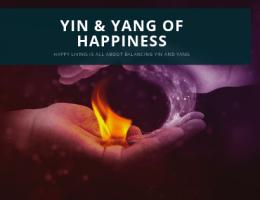 Yin and Yang of happiness