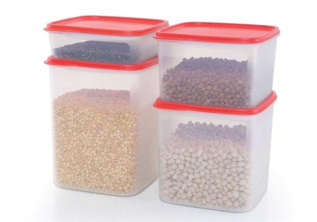 storage boxes tupperware