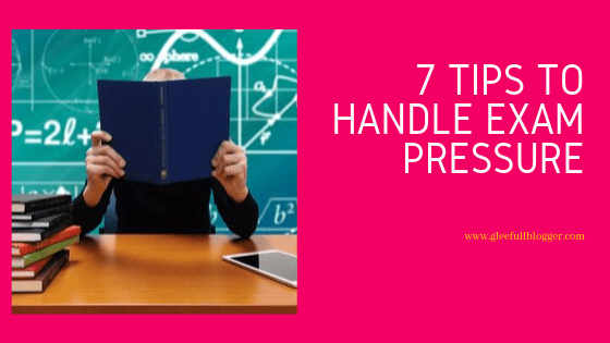 handle exam anxiety in students