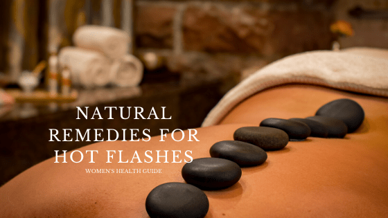 natural remedies for hot flashes without hormones
