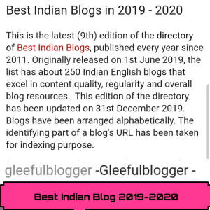 Best Indian Blogs in 2019 - 2020
