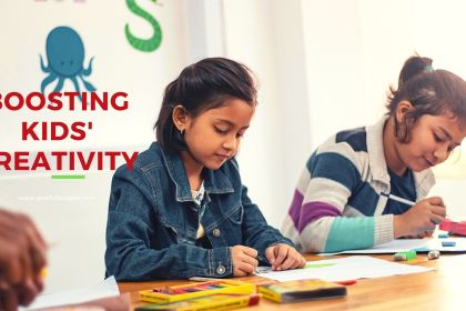 boosting kids' creativity