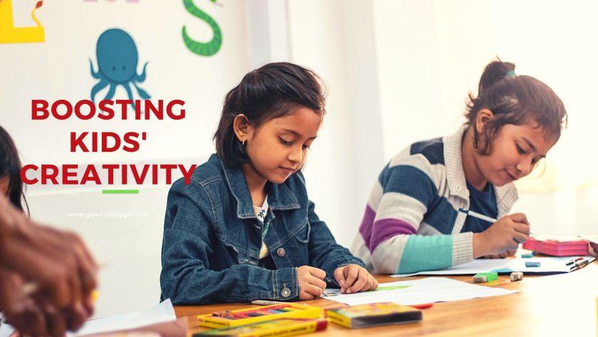 boosting kids' creativity
