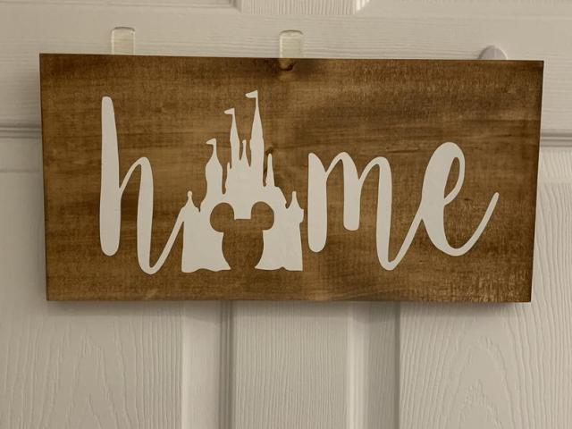decoration home sign