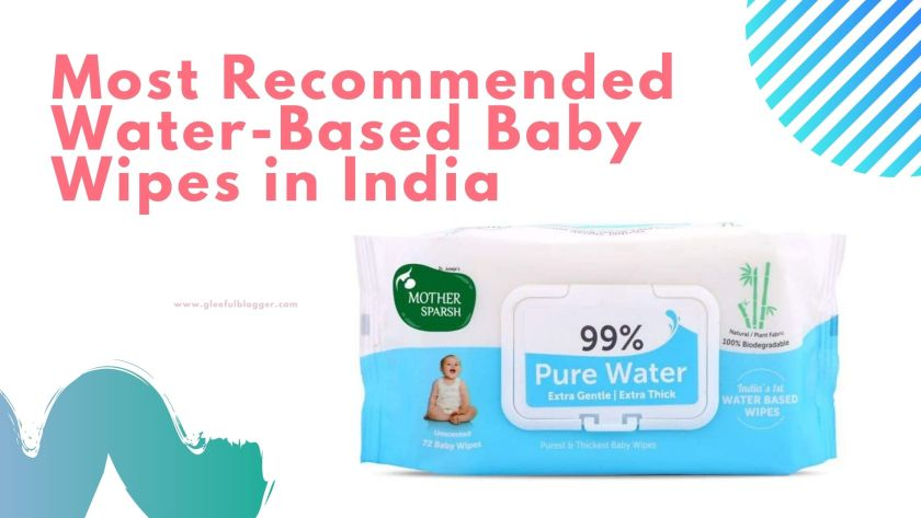 water-based baby wipes