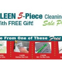 GLEEN Holiday 5 Piece Pack Plus a FREE Gift