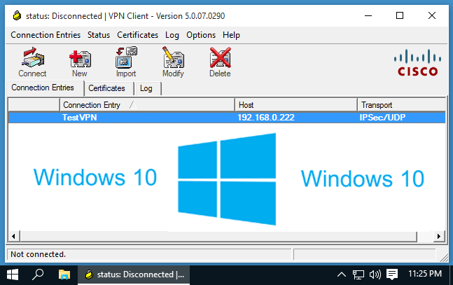 cisco vpn client 5.0.04