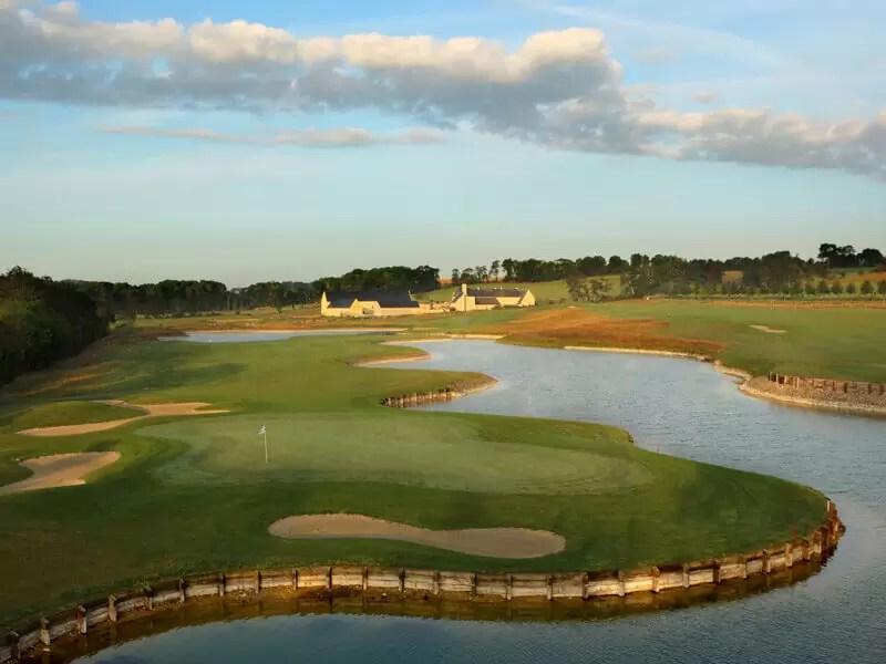 Omaha Beach Golf, Normandy