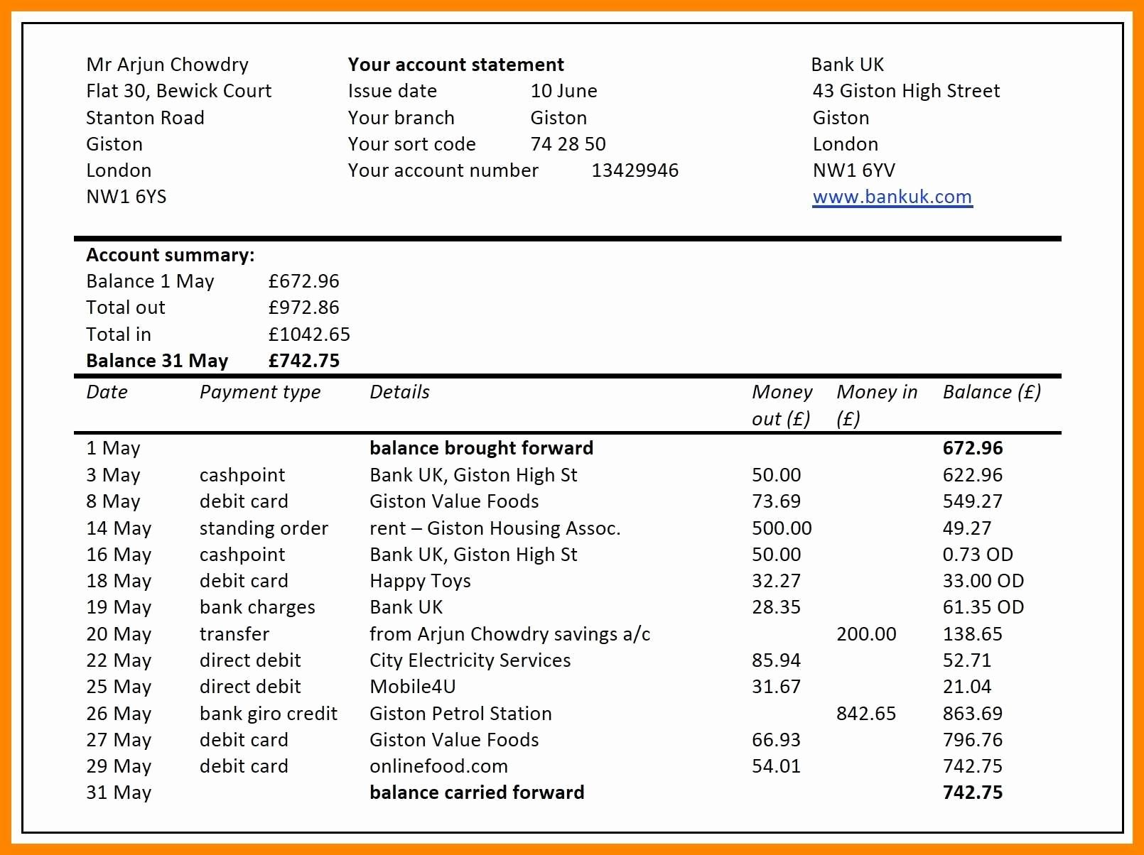 Consolidated Financial Statements Example