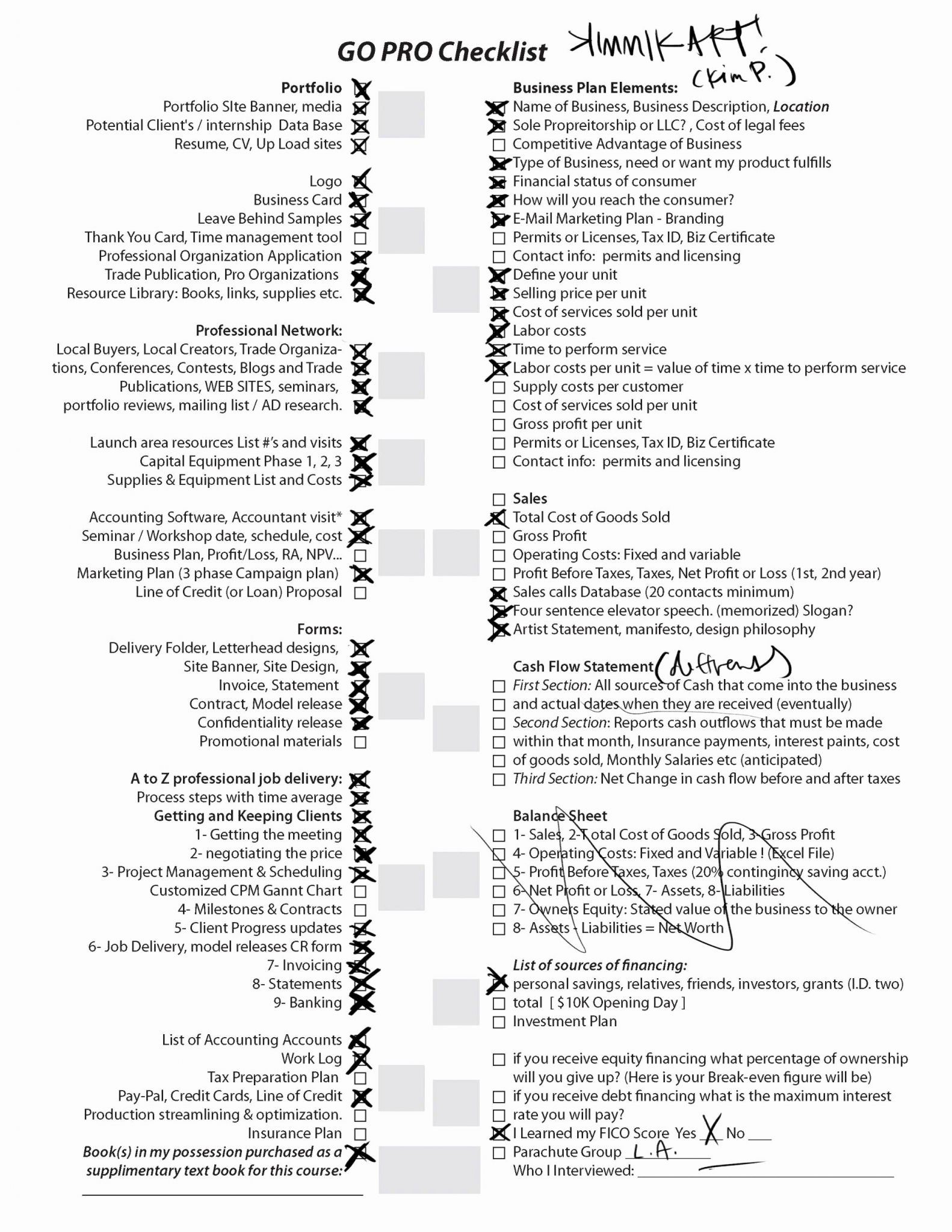 Permit Tracking Spreadsheet