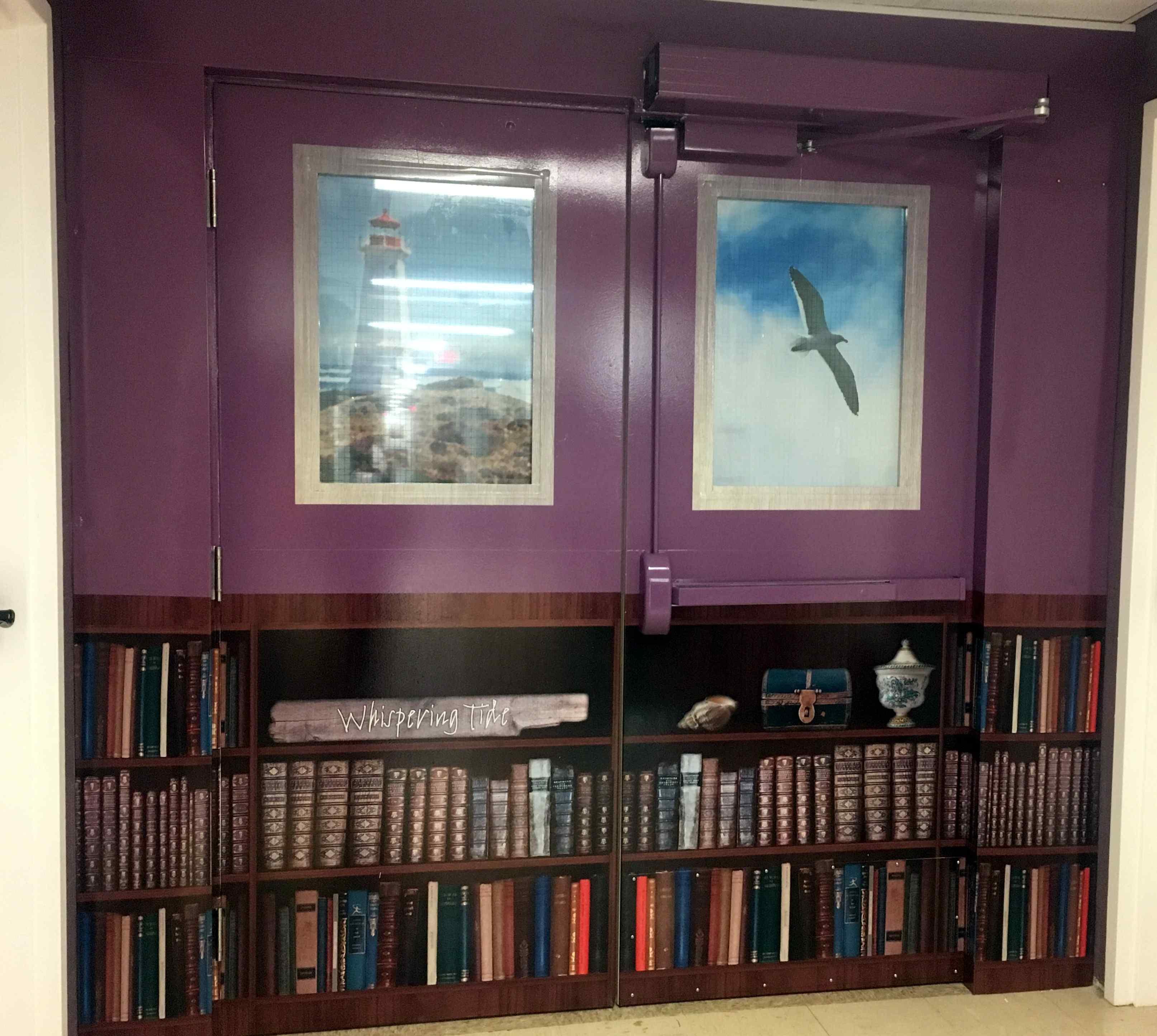 Bookshelf Door Wrap U0026 Spring Renos Giving Glen Haven Residents Increased  Comfort