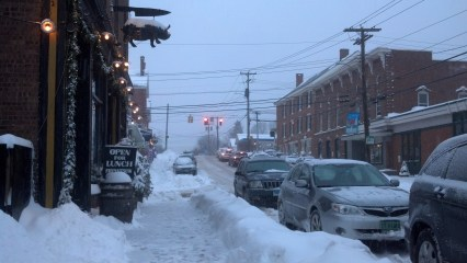Snowy Main, Waterbury, VT