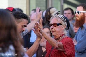 Photo: Dancing at the Jazz Festival