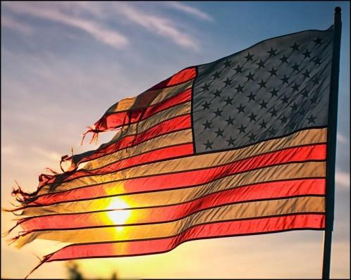 ragged flag