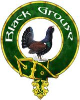 Black Grouse badge