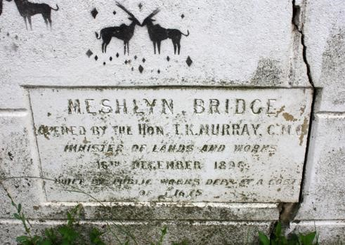 Photograph of Meshlyn Bridge