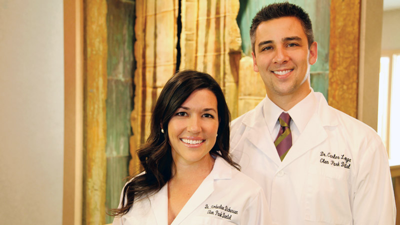 Dr Kimberlee Dickerson and Dr. Carlos Longa