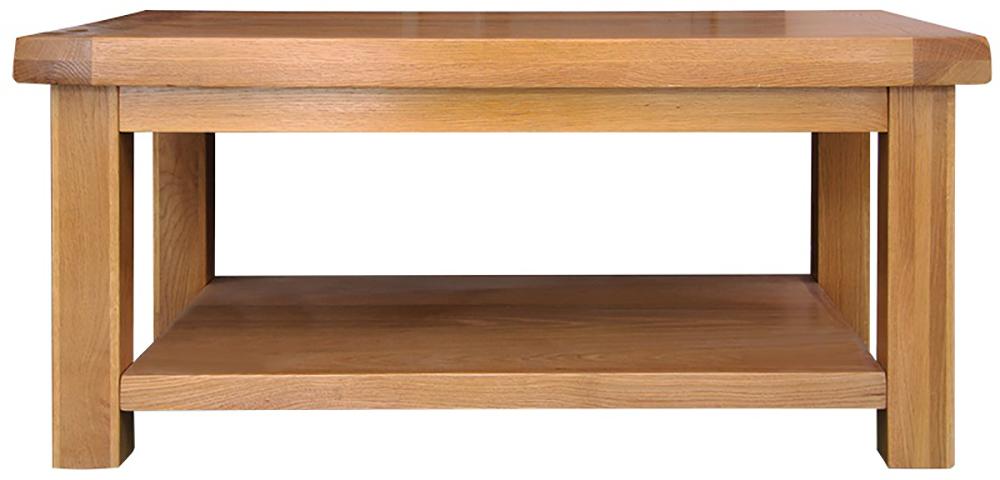 galloway oak coffee table