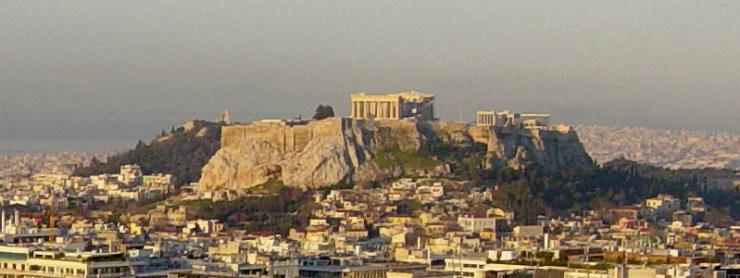 Athens at Dawn