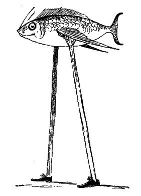 Fish with legs