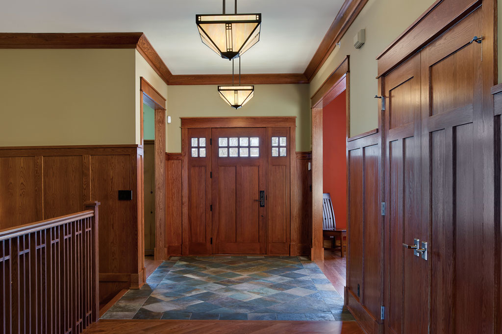 Custom Craftsman Wood Front Doors In Highland Park Illinois North Shore Gallery Glenview