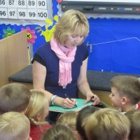 What Happened in a Little British Primary School on my First Author Visit..