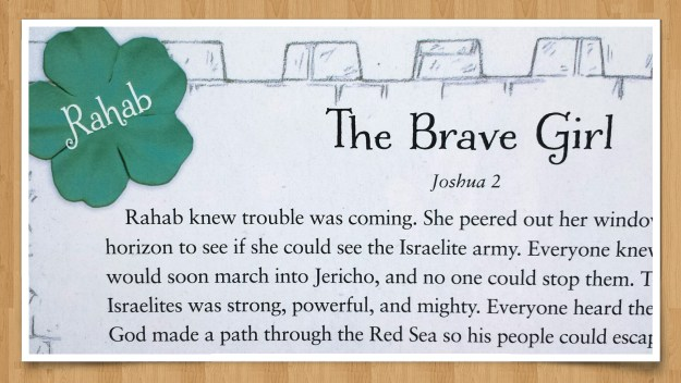 Rahab: The Brave Girl – Part 3 in a Fourteen-Week Bible Study for