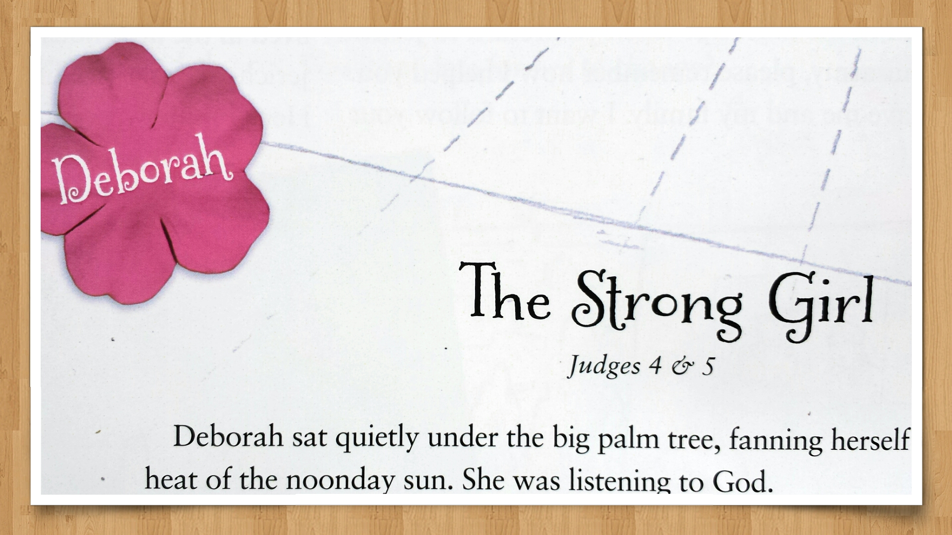 graphic about Printable Women's Bible Study Lessons Free known as Deborah: The Durable Woman- Component 4 within just a 14-7 days Bible
