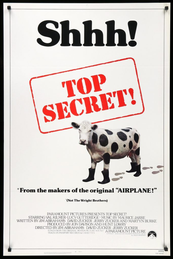 Top Secret! (1984): incontri surreali 1