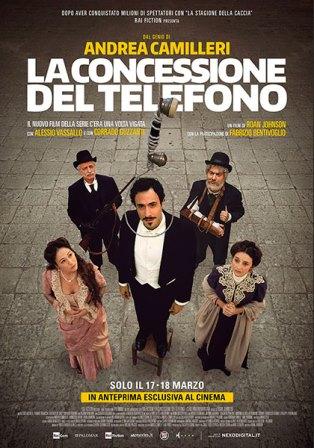 la concessione del telefono locandina film cinema a marzo 2020