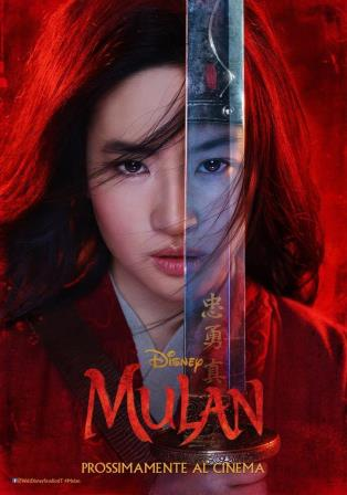 mulan locandina film cinema a marzo 2020