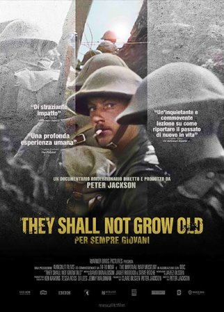 they shall not grow old locandina film cinema a marzo 2020