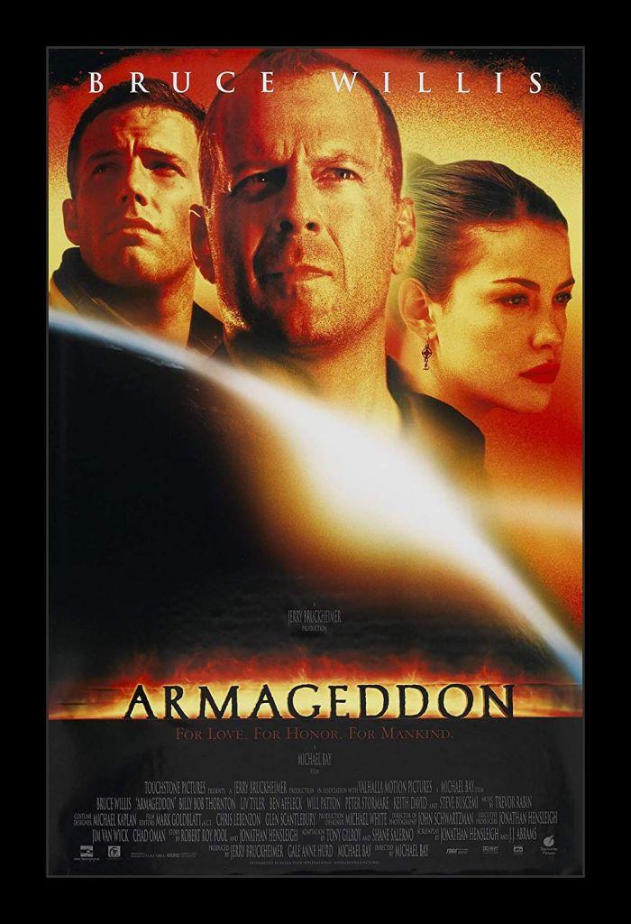 armageddon poster locandina