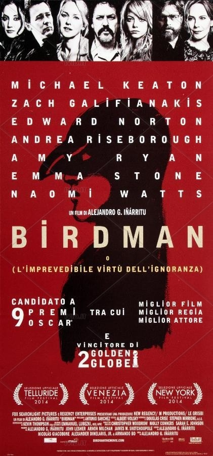 Birdman (2014): l'imprevedibile virtù del falso piano sequenza 8