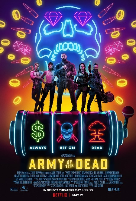 army of the dead netflix 2021 locandina