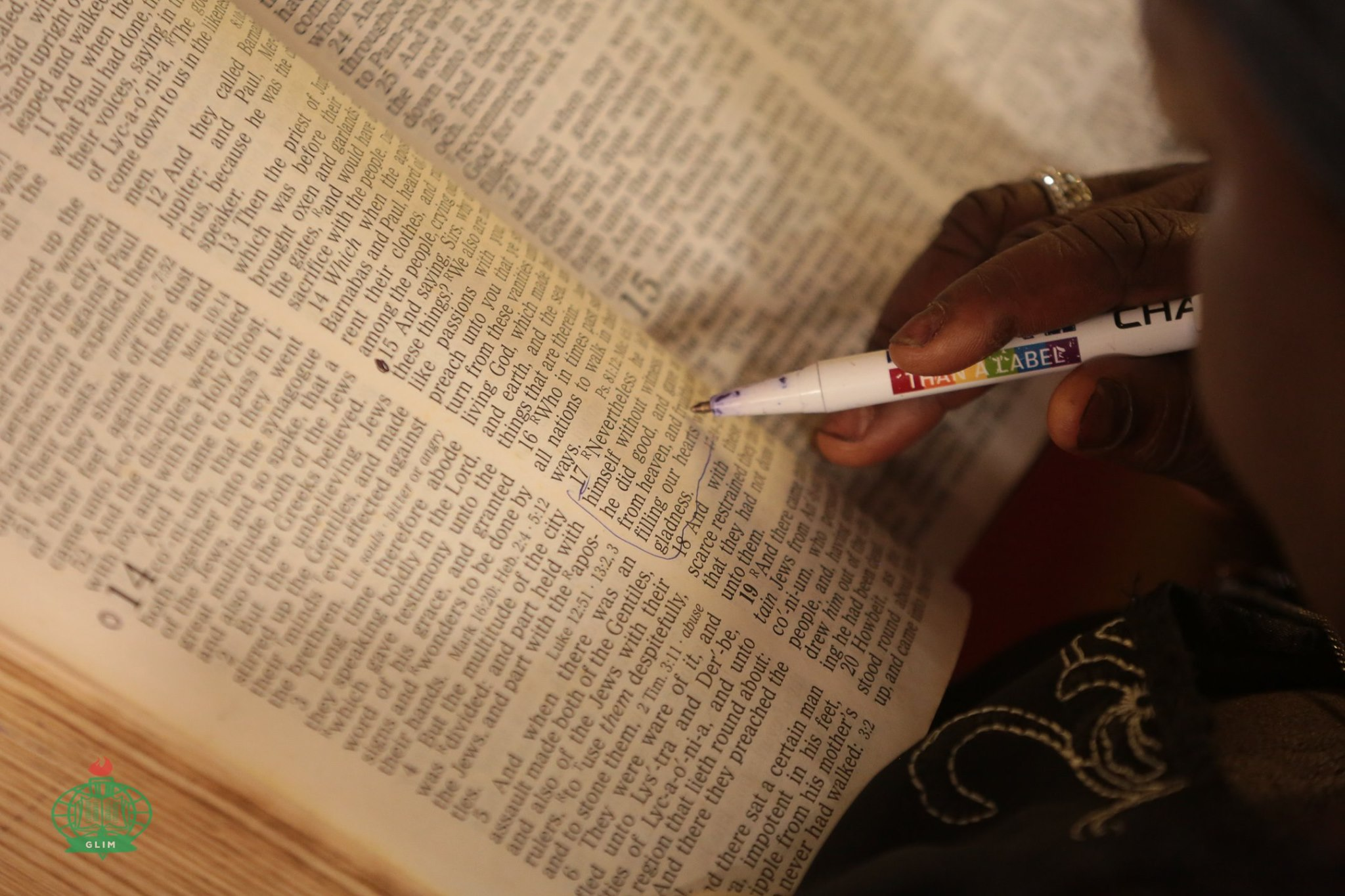 Blossom bible study