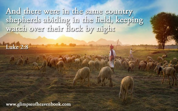 And there were in the same country shepherds abiding in the field, keeping watch over their flock by night Luke 2:8