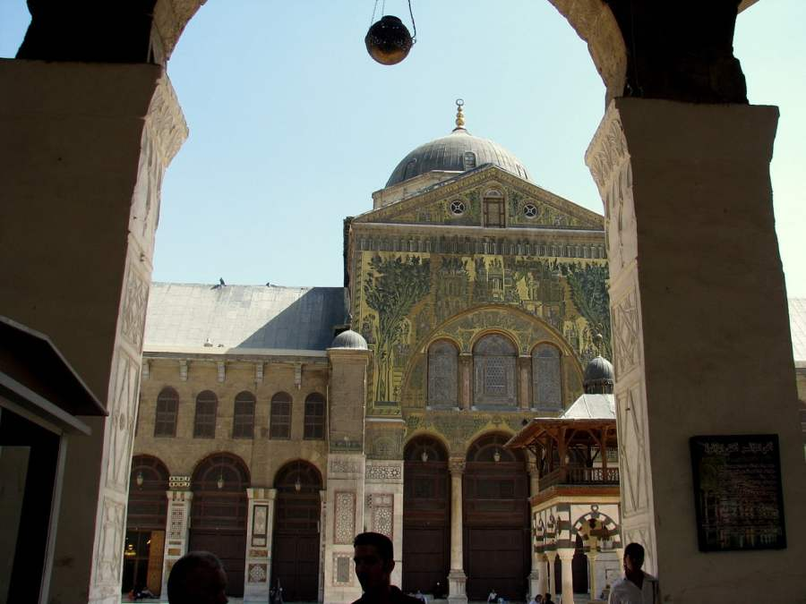 Homage to Syria: GREAT MOSQUE OF DAMASCUS (2)