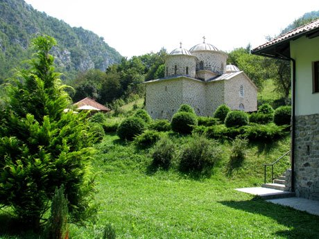 Serbia-travel-Davidovica-Monastery-greenery-Glimpses-of-The-World