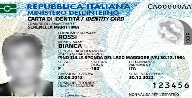 Italiani Allestero Arriva La Carta Didentità Elettronica