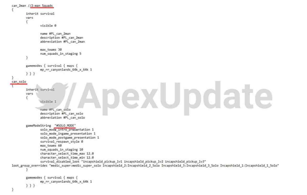 Apex Legends code