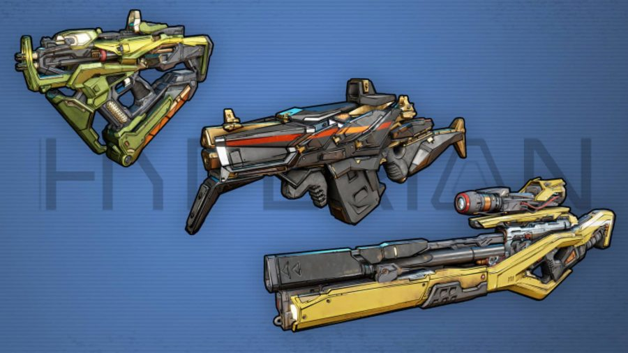 Borderlands 3 Weapons Hyperion