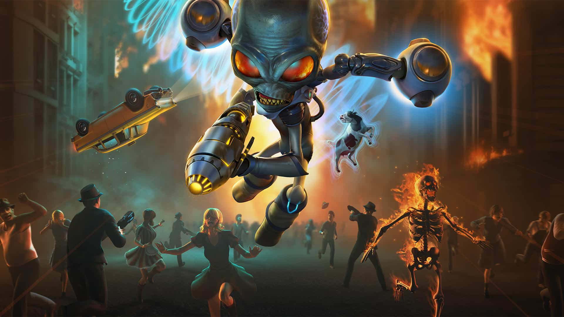 Destroy All Humans! Remake Demo Now Available - GLITCHED