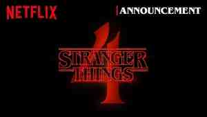 Netflix Stranger Things 4