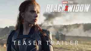 Black Widow Teaser Trailer Marvel MCU Phase 4