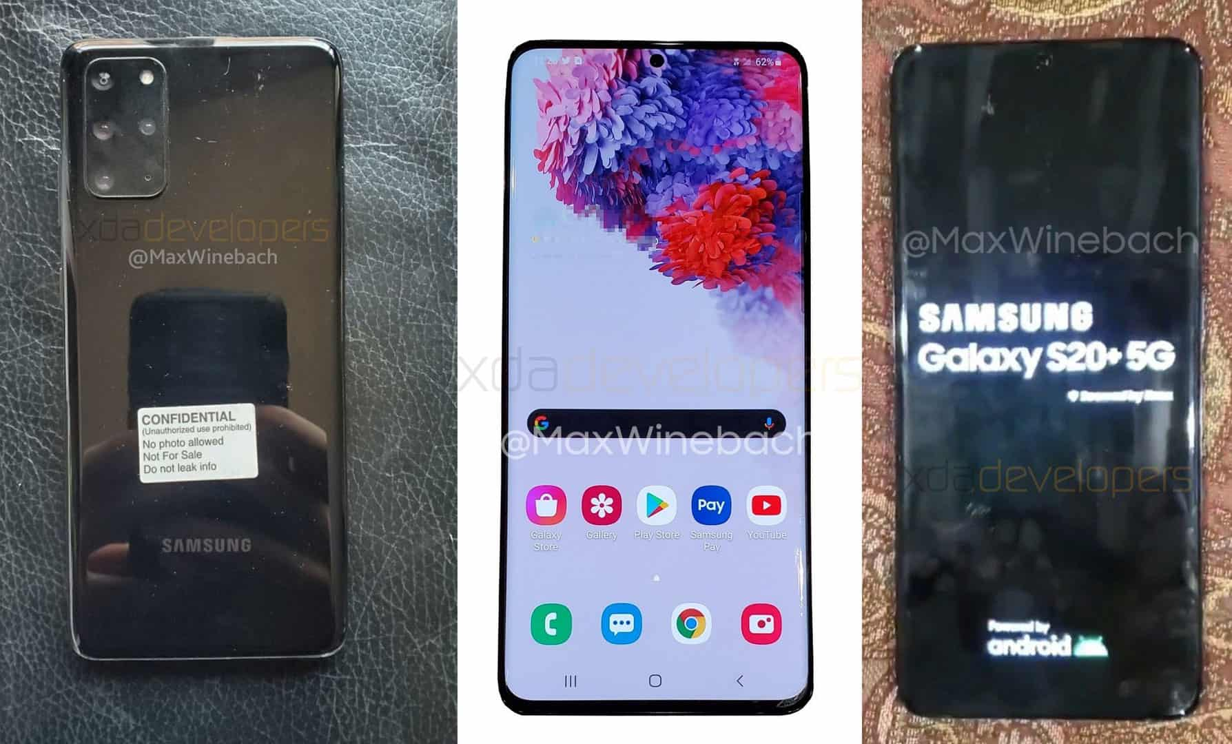 Samsung Galaxy S20 S20+ Ultra