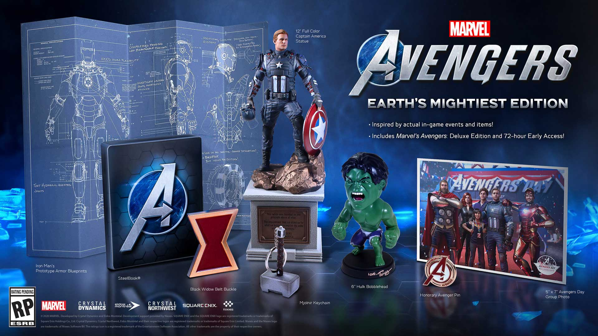 Square Enix Marvel's Avengers Deluxe Collector's Edition