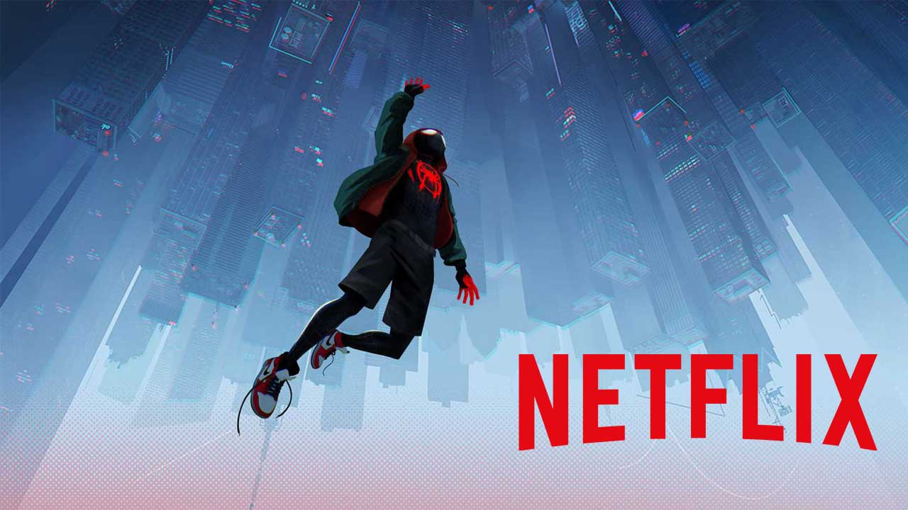 Netflix March 2020 Spider-Man Into the Spider-Verse