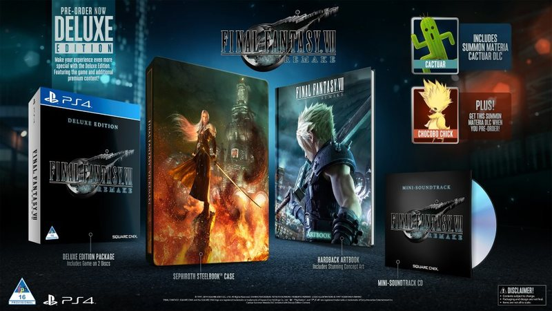 Final Fantasy VII Deluxe Edition SA Lockdown